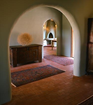 Haus and home hacienda style for Piani casa adobe hacienda