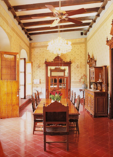 Hacienda Houses Style Homes Blue Heron 1 Nestled Style House Design ...