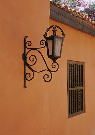Hacienda Style Iron Lighting Mexican